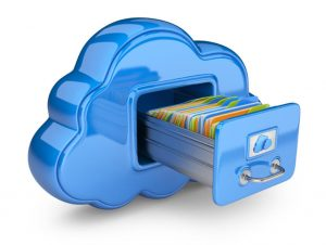 وکتور ذخیره سازی ابری